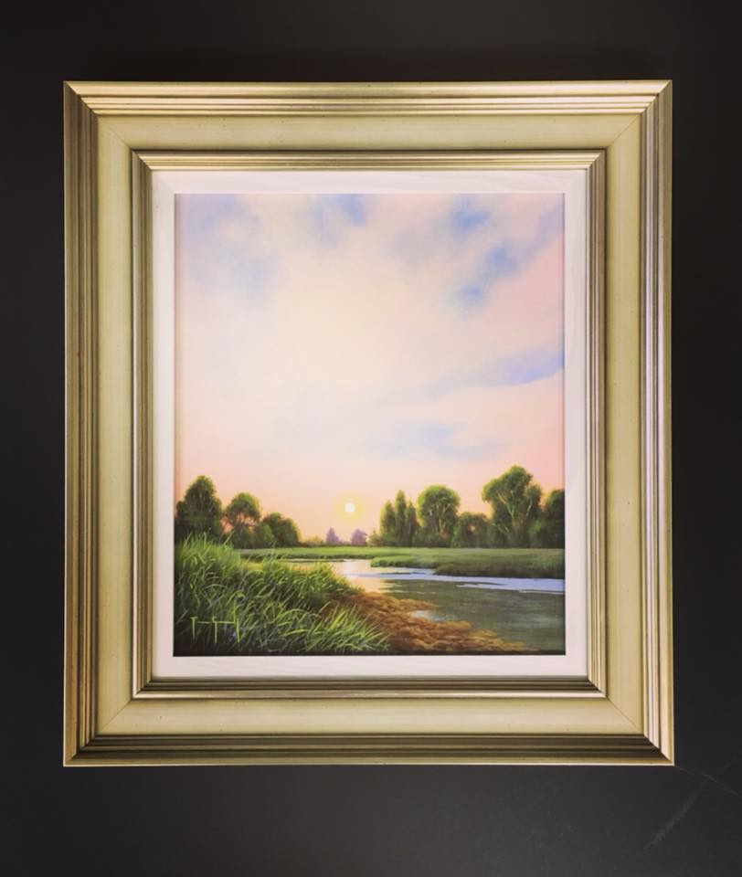 original painting by terrence grundy forum framers